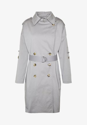 NEW SOFT  - Trenchcoat - blue grey
