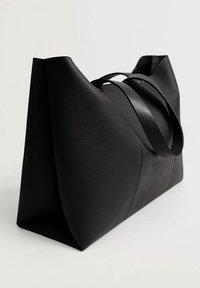 Mango - ROMI - Shopper - zwart - 1