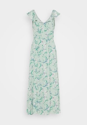 VIMICADA FRILL ANKLE DRESS - Maxi šaty - jadeite