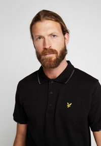 Lyle & Scott - ANDREW - Funktionströja - true black - 3