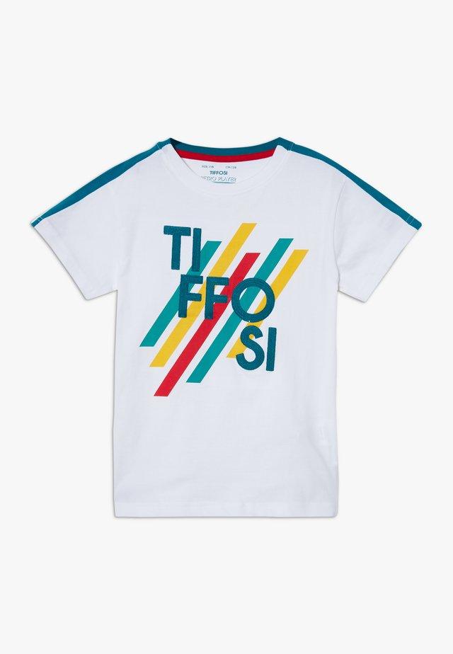GROVER - Print T-shirt - white