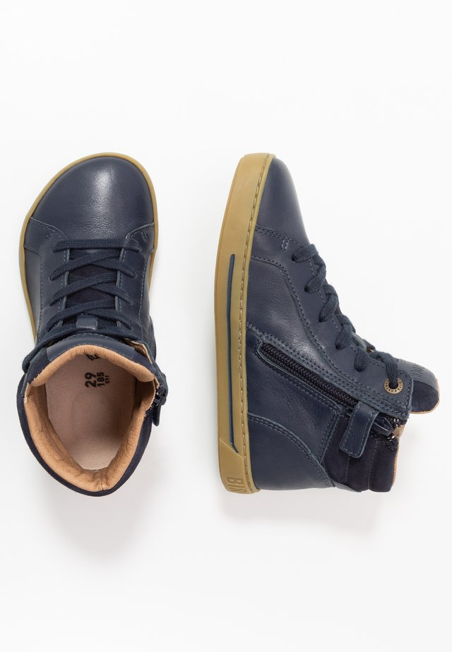 PORTO - High-top trainers - navy