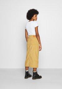 Levi's® - BUTTON FRONT MIDI SKIRT - Pencil skirt - neutrals - 2