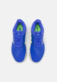 adidas Performance - COURTJAM XJ UNISEX - Multicourt tennis shoes - sonic ink/signal green/footwear white - 3