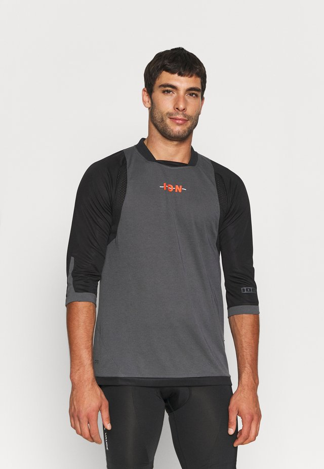 TEE 3/4 SCRUB - Long sleeved top - black