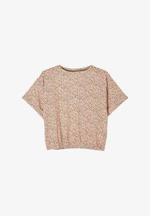 T-Shirt print - khaki millefleurs