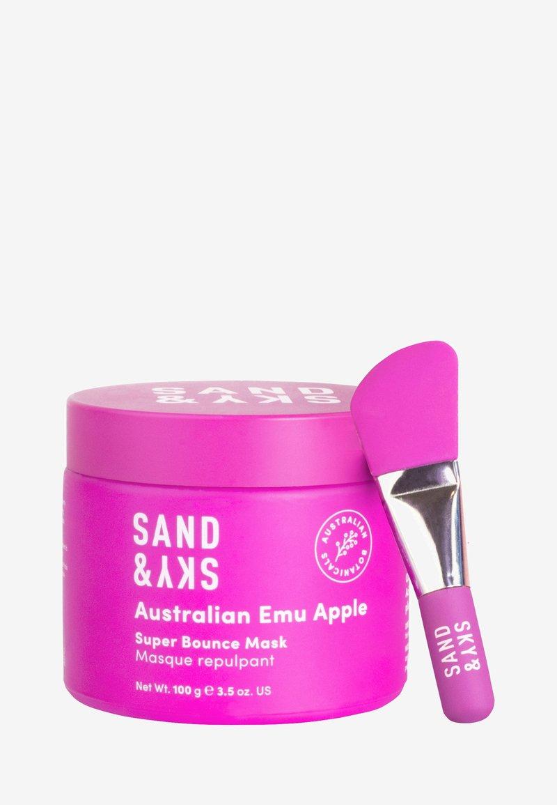 Sand&Sky - AUSTRALIAN EMU APPLE - SUPER BOUNCE MASK - Face mask - -