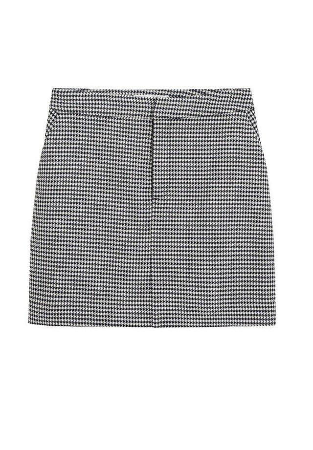 BOMBIN - A-line skirt - cremeweiß