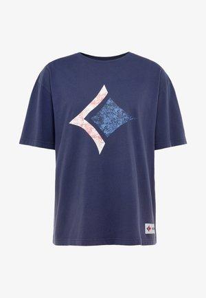 LOOSE TEE ARCHIVE - Print T-shirt - peacoat