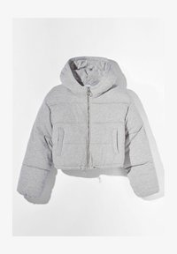 Bershka - Winter jacket - light grey - 4