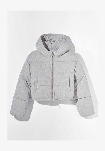 Winter jacket - light grey