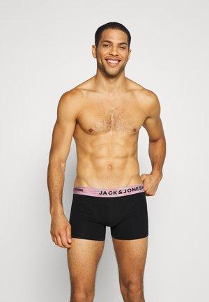 JACSTRIPWB TRUNKS 3 PACK - Panties - black/white/rosin