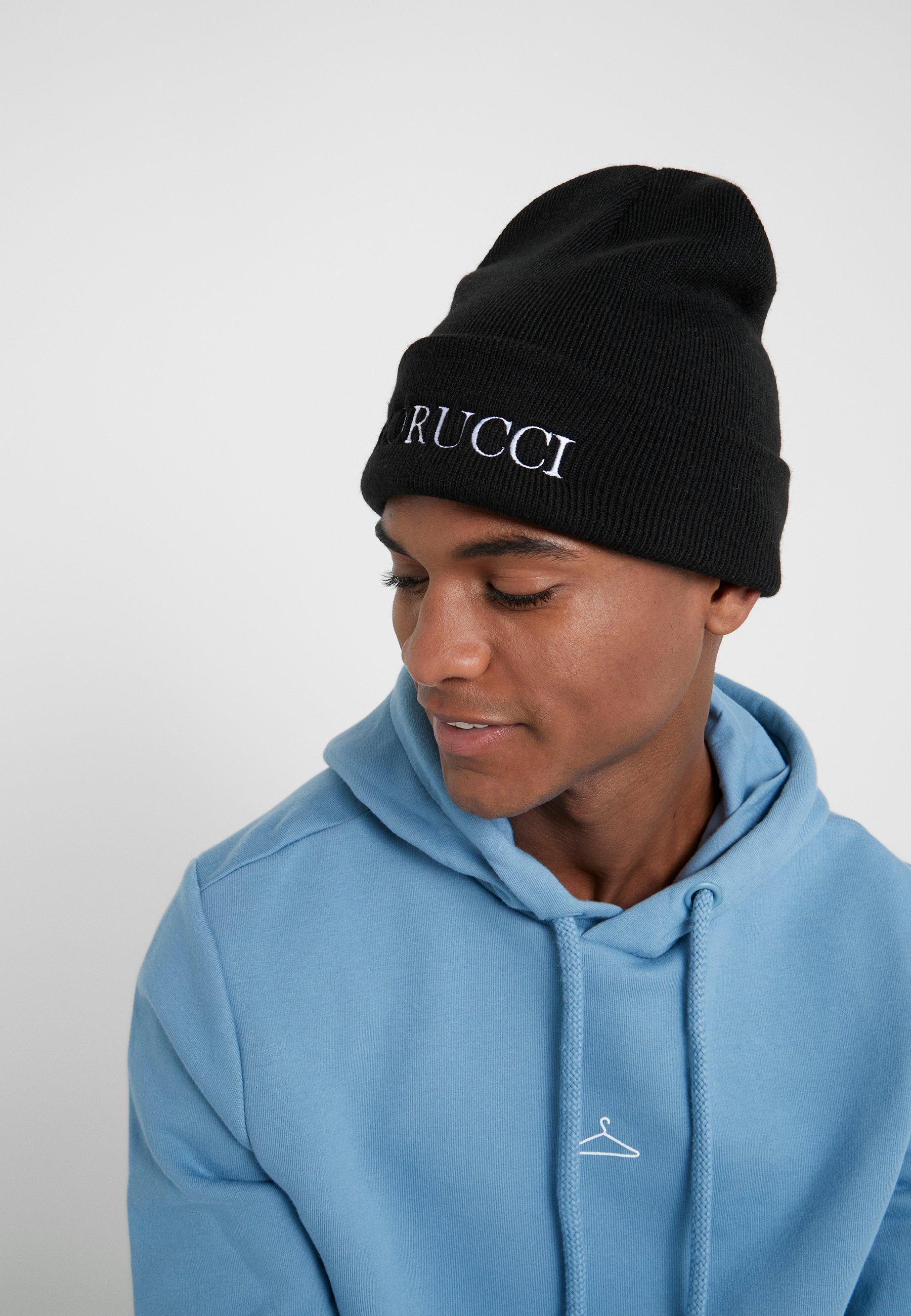 Fiorucci Beanie With Embroidered Logo - Mütze Black/schwarz