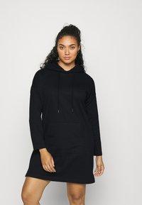 Vero Moda Curve - VMOCTAVIA DRESS - Day dress - black - 0