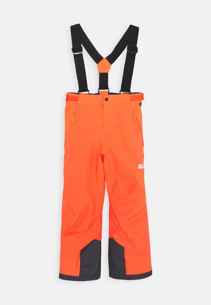 Jack Wolfskin - GREAT SNOW PANTS KIDS - Zimní kalhoty - flashing red