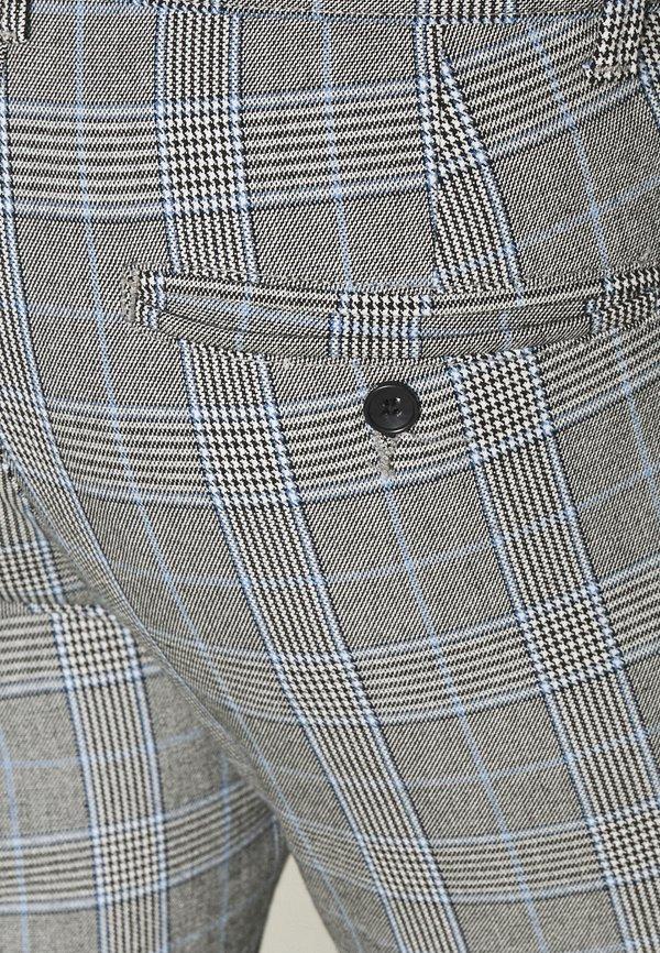Only & Sons ONSMARK PANT CHECK - Spodnie materiałowe - marina/niebieski Odzież Męska MIZF