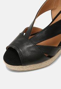Kanna - INES - Sandály na platformě - schwarz - 7