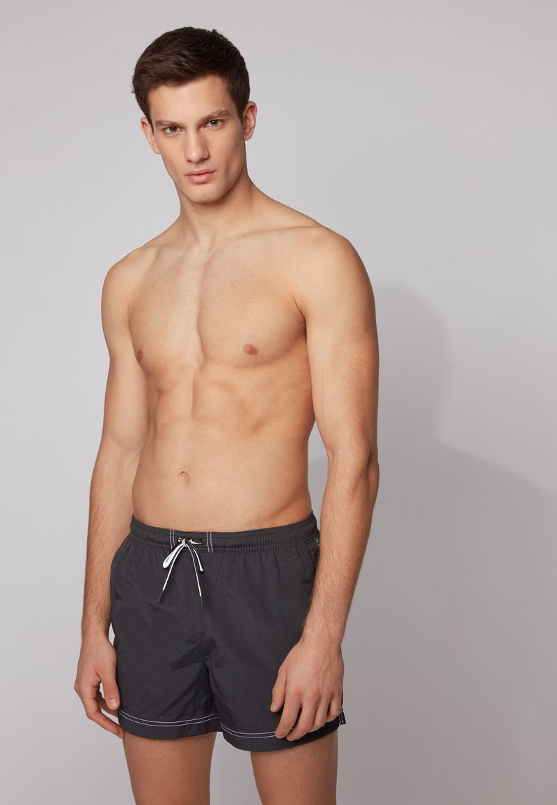 BOSS - TUNA - Swimming shorts - black