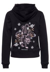 Queen Kerosin - Zip-up hoodie - schwarz - 1