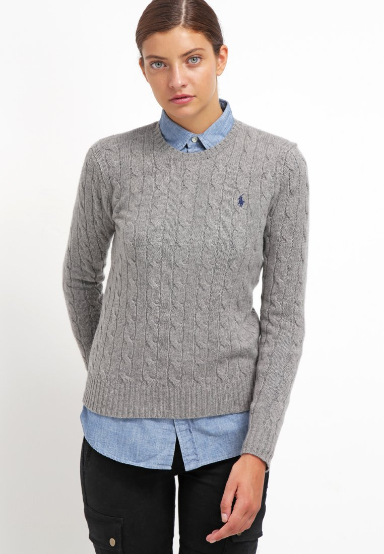 Polo Ralph Lauren - JULIANNA  - Jumper - fawn grey heather