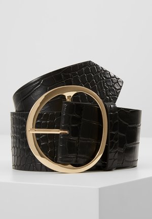 MELAINE BELT - Tailleriem - black/gold
