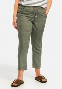 Samoon - Trousers - cactus green - 0