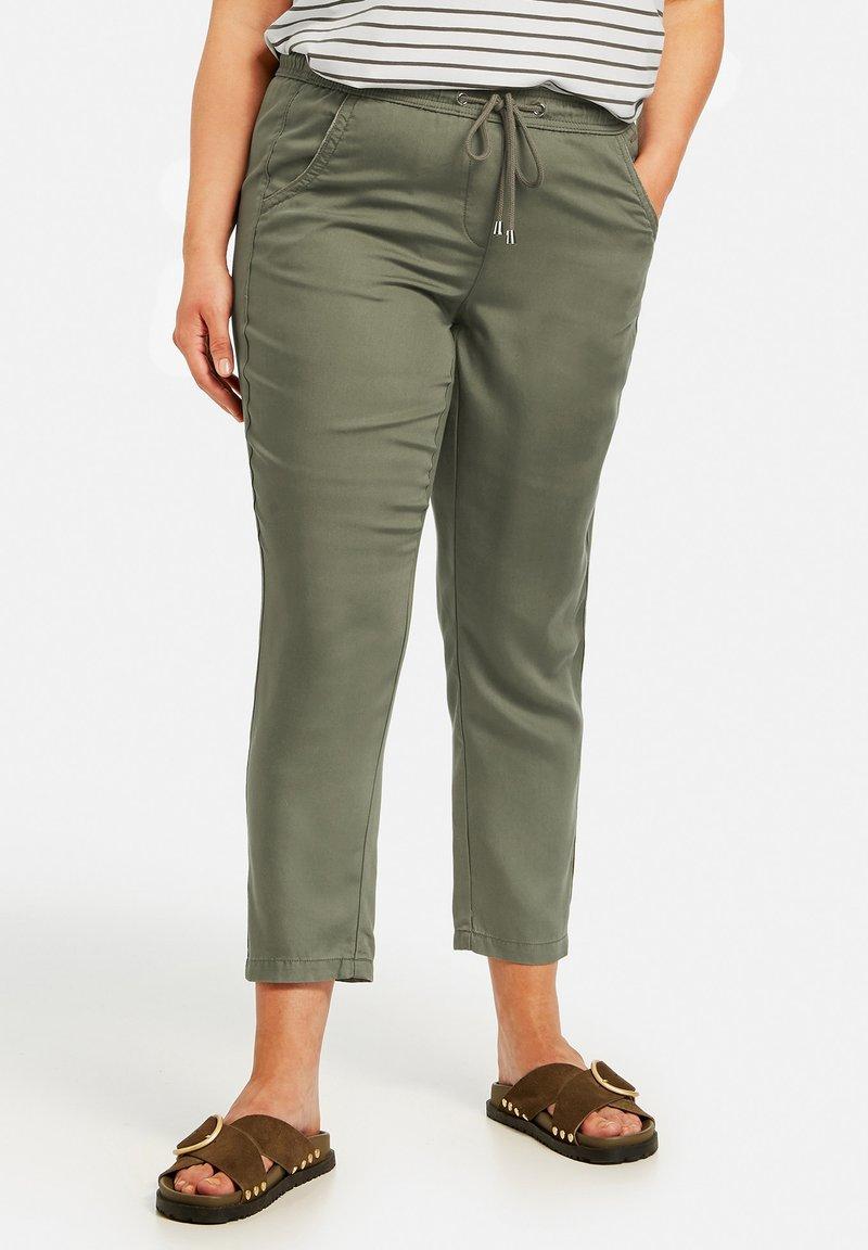Samoon - Trousers - cactus green