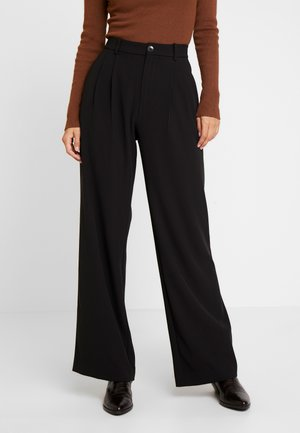 VEANNA - Kalhoty - black