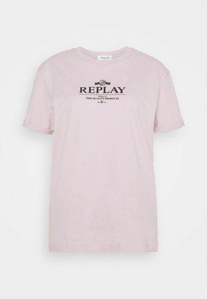 Print T-shirt - quartz rose