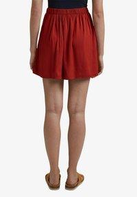 edc by Esprit - A-line skirt - terracotta - 7