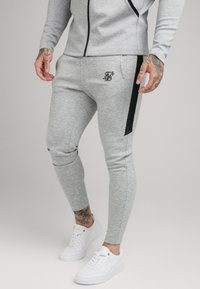 SIKSILK - SIKSILK MOTION TAPE ZIPTHROUGH - Hoodie - black/ grey - 3