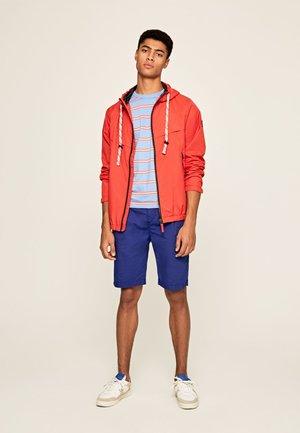 DAVID - Training jacket - ziegelrot
