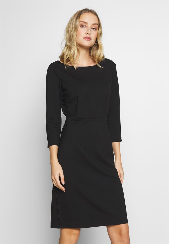 DRESS PUNTO DIE ROMA - Korte jurk - deep black