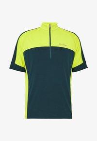 LÖFFLER - BIKE PACE - Print T-shirt - pond green - 4