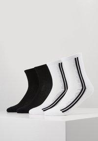 s.Oliver - ONLINE WOMEN FASHION SOCKS 4 PACK - Ponožky - white - 0