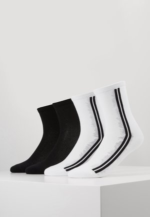ONLINE WOMEN FASHION SOCKS 4 PACK - Socks - white