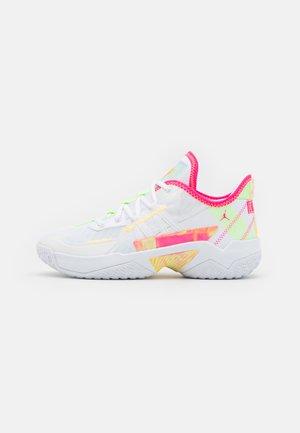 ONE TAKE II UNISEX - Basketbalschoenen - white/hyper pink/lime glow/citron pulse