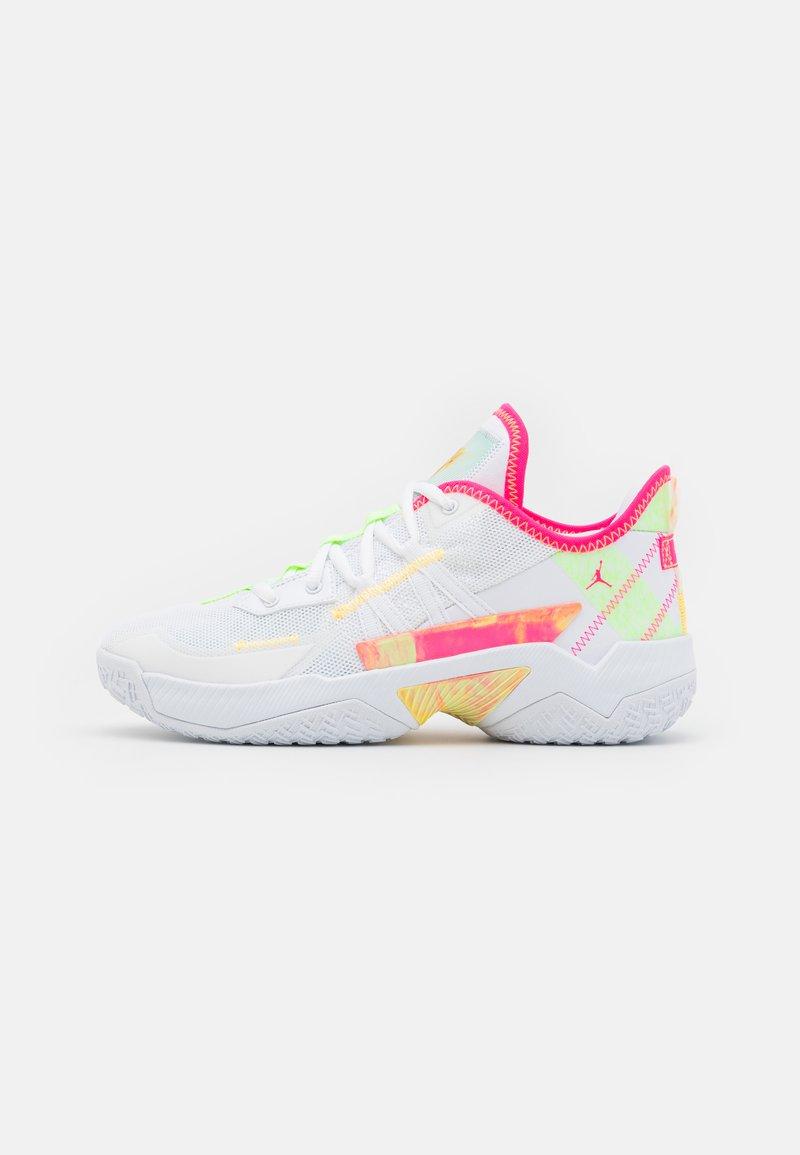 Jordan - ONE TAKE II UNISEX - Obuwie do koszykówki - white/hyper pink/lime glow/citron pulse
