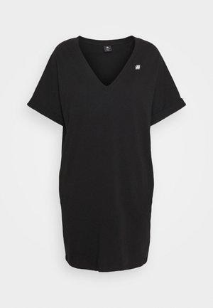 LOOSE DRESS  - Vestido informal - black