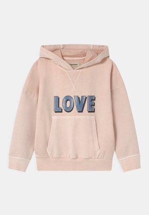 HOODED - Sweatshirt - washed pink