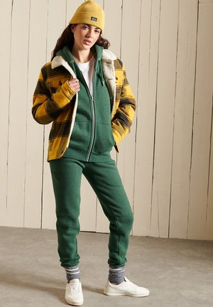 Tracksuit bottoms - heritage pine green marl