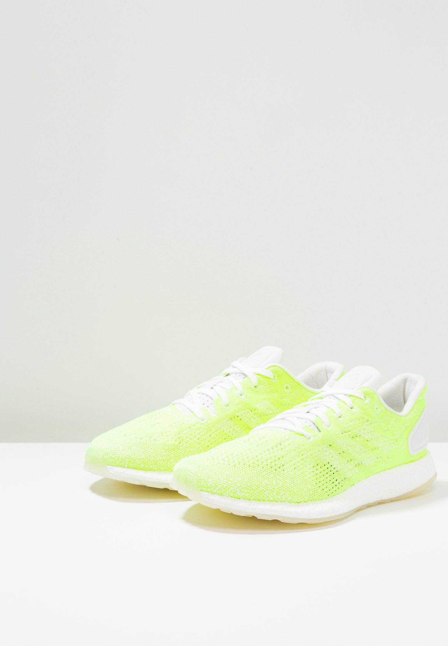 adidas Performance PUREBOOST DPR LTD - Laufschuh Neutral - footwear white/hi-res-yellow/weiß - Herrenschuhe iTEi9
