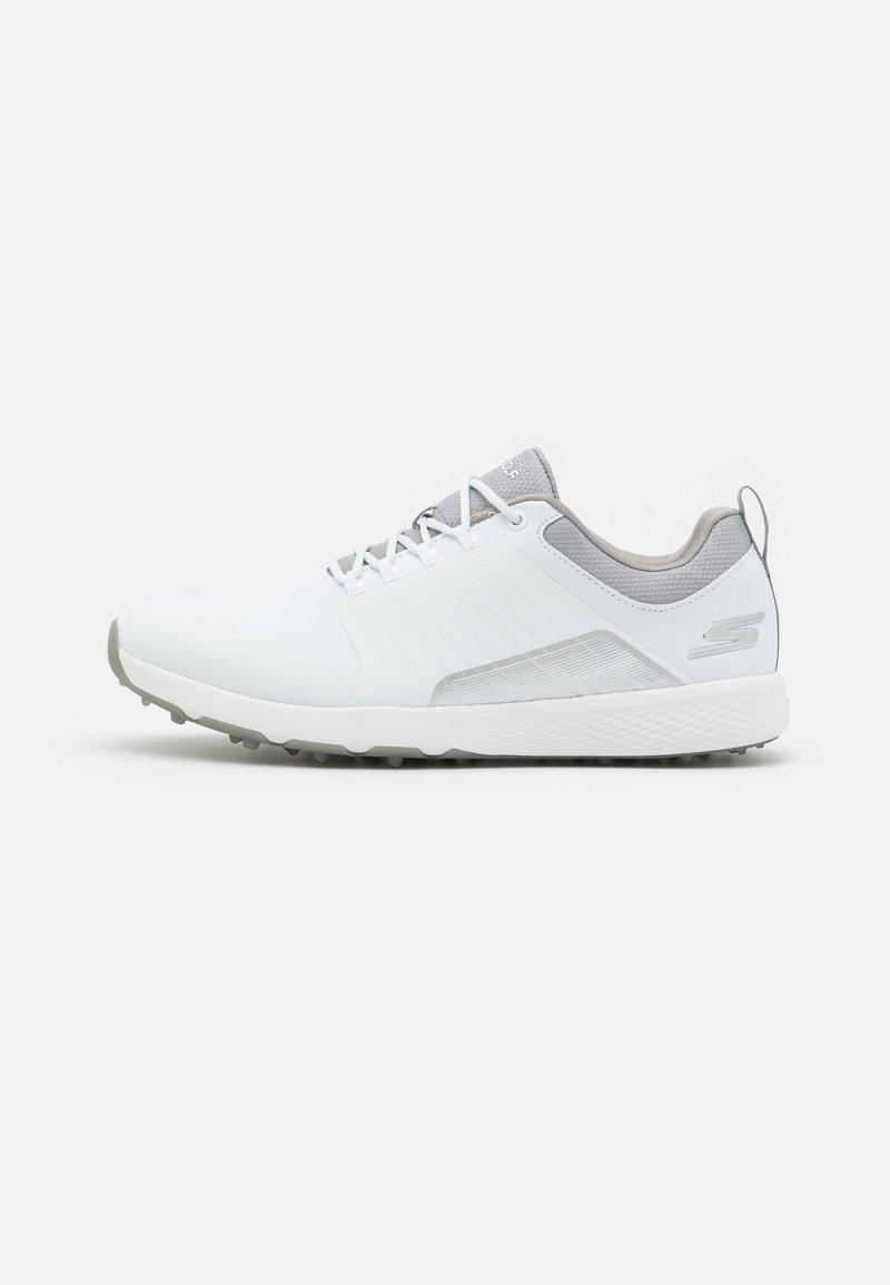 Skechers Performance - GO GOLF ELITE 4 - Golf shoes - white/gray