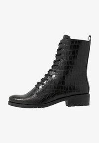 Caprice - BOOTS - Šněrovací kotníkové boty - black - 1