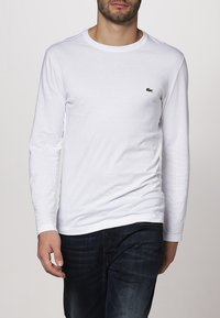 Lacoste - Långärmad tröja - weiß - 1