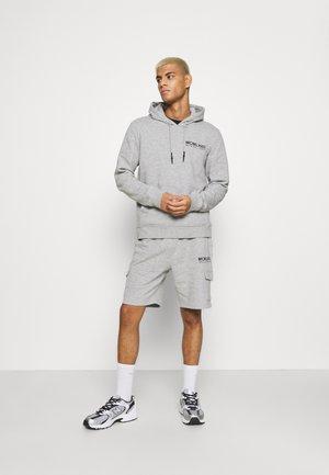 SET - Sweatshirts - light grey marl/jet black