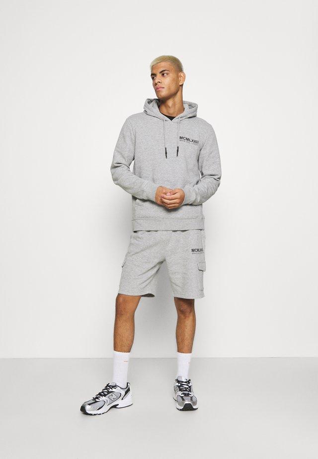 SET - Sweater - light grey marl/jet black