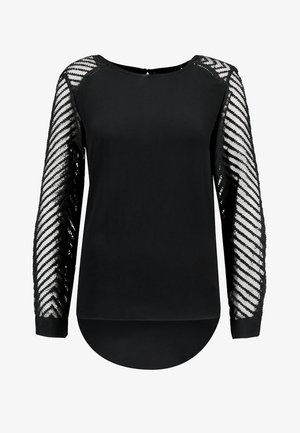OBJZOE - Blouse - black
