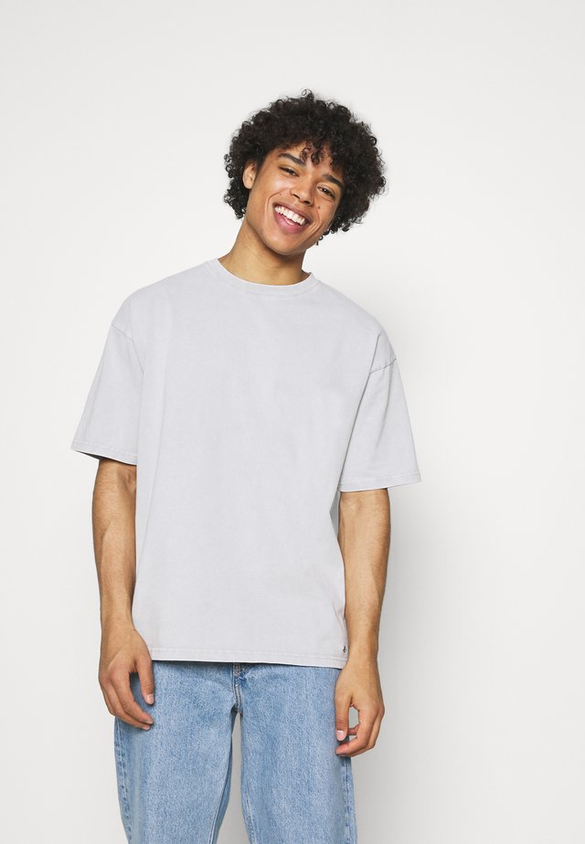 YORICK - T-shirt basic - vintage concrete grey