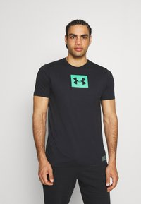 Under Armour - BOXED ALL ATHLETES - Print T-shirt - black - 0